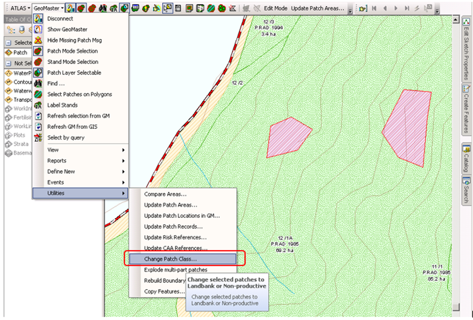 Mapping Out Forest Stand Gaps in GeoMaster and ArcMap
