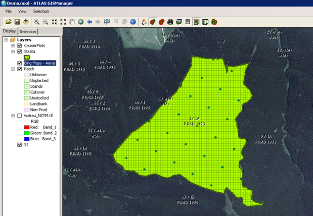 Using ATLAS GIS Manager with GeoMaster in the Cloud