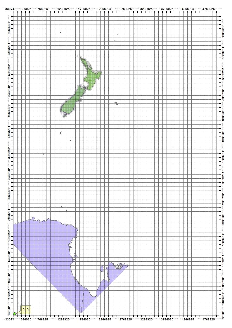 NZTM Origin of Grid
