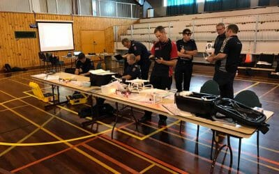 Interpine Provides UAV / Drone Training to NZ Fire Service