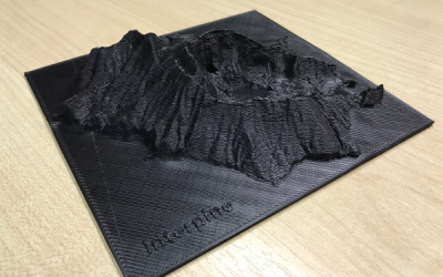 LiDAR meets 3D Printing – Benefits of 3D Printing for Forest Engineering