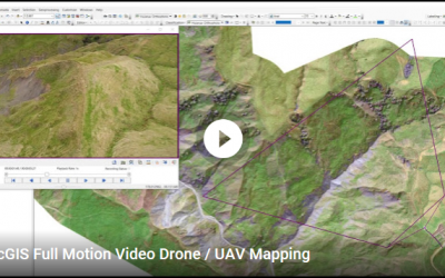 UAV / Drone Full Motion Video Mapping with ESRI Addin
