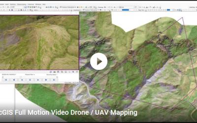 UAV / Drone Full Motion Video Mapping with ESRI Addin