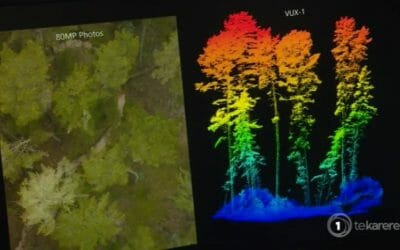Drone Tech Profiled on #TVNZ as a Leading Innovator in Forestry Sector
