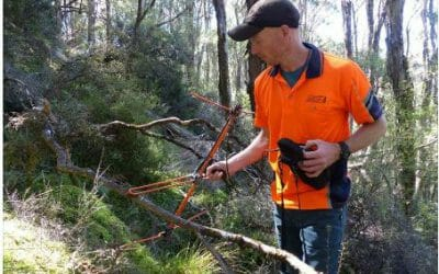 Not all about the day job.. Our #UAV pilots volunteer to track Kiwi.