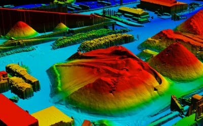 Wood Chip Pile Volumes – Making a Difference with Drone Technology
