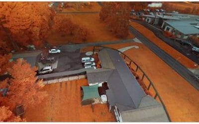 Use of Drone Mounted Sensors to Vegetation Detection