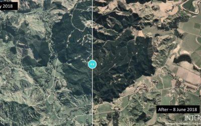 Satellite Imagery of the 2018 Tolaga Bay Floods