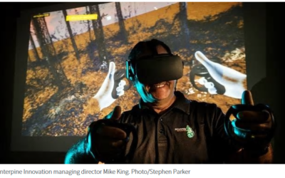 Virtual reality experiments in Rotorua could replace forestry field work