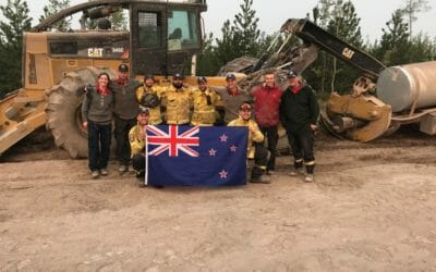 Interpine helping with North American Wildfires in Canada