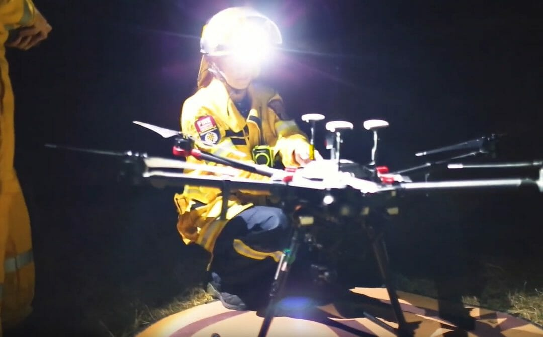 Firefighting with Drones - Thermal Hotspot