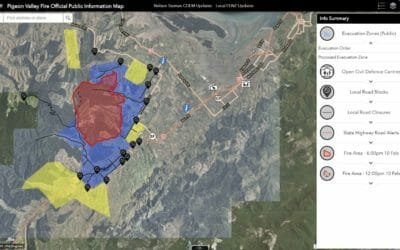 The Importance of GIS in Vegetation / Wildfire Events – ESRI RUC 2019