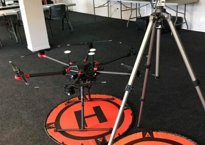 UAV Course - Demostration of Different Drones and Systems