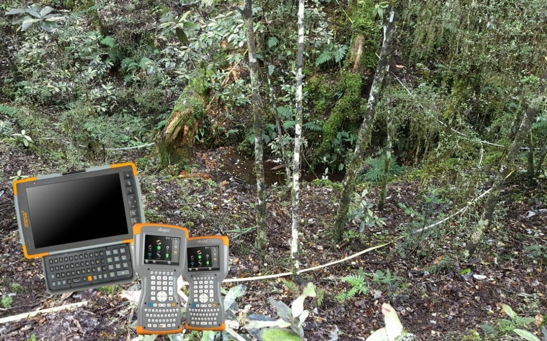 Electronic Data Capture for DOC Natural Forest Inventory