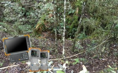 Managed Service for Infield Electronic Data Capture of Vegetation Data Collected by DOC