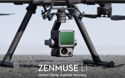 Drone based LiDAR services extended with the DJI Zenmuse L1 Livox LiDAR and RGB Solution