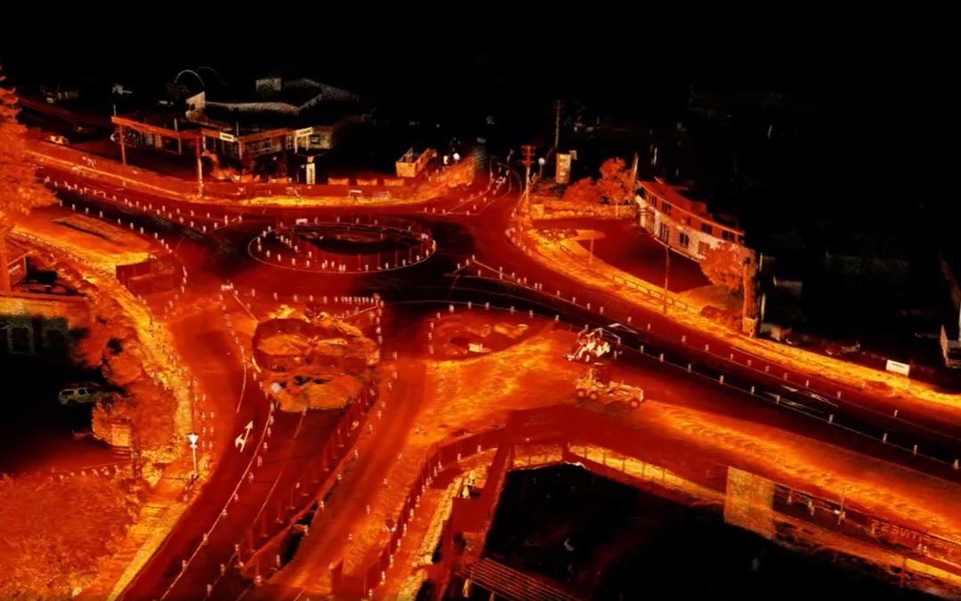 Hovermap SLAM LiDAR Used in Engineering Projects Roading