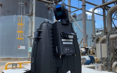 As built 3D Scanning for Industrial Inspection and Engineering with Hovermap LiDAR