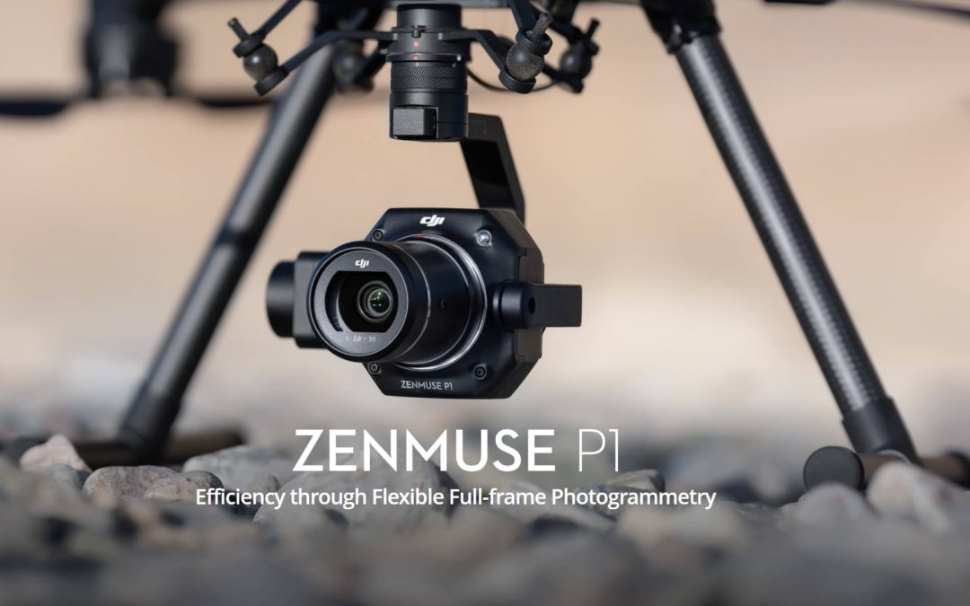 Drone Based Ultra High Resolution Full Frame Aerial Surveying with the DJI Zenmuse P1 Sensor