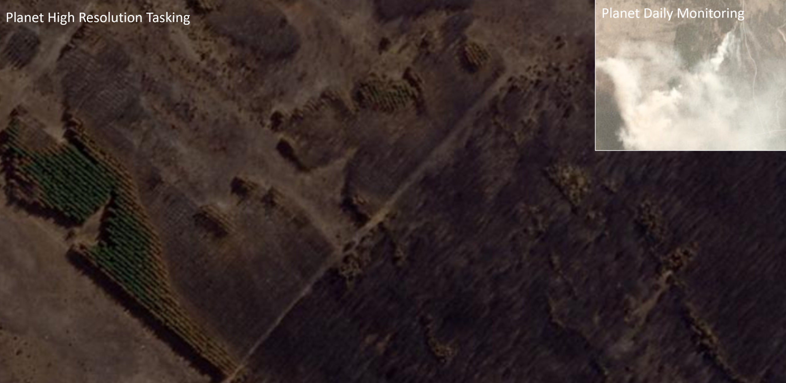 Planet SkySat Forest Fire Example 2