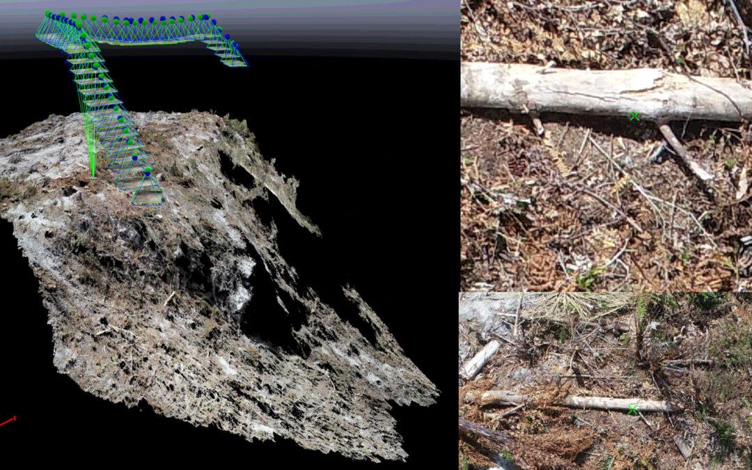 Drone based Harvesting Cutover Merchantable Volume Assessment