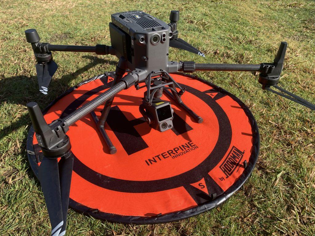 Interpine DJI M300RTK Drone UAV L1 LiDAR Sensor